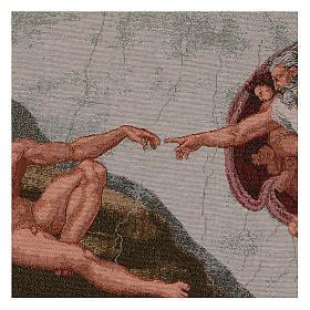 Arazzo Creazione di Adamo 35x60 cm s2