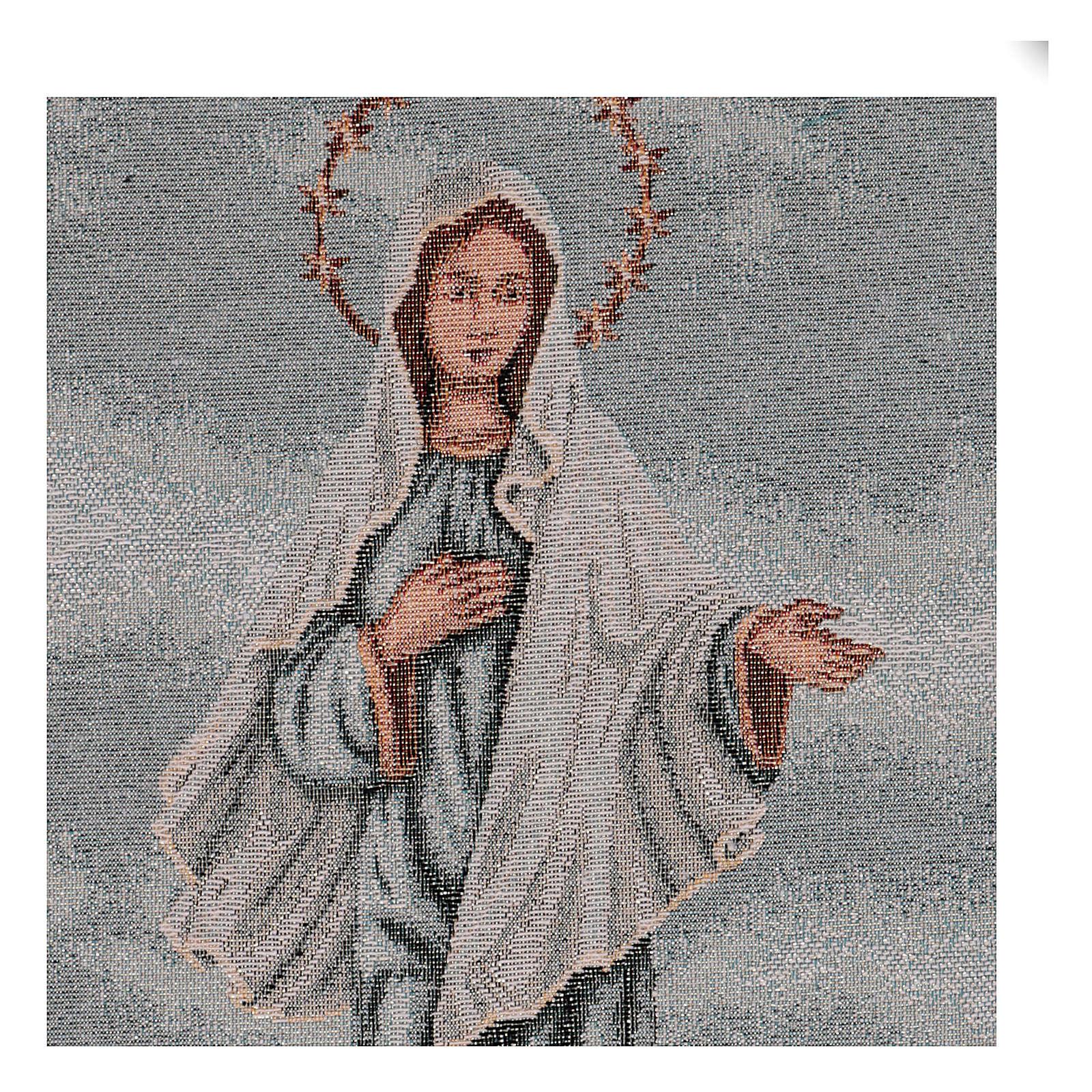 Tapisserie Notre-Dame de Medjugorje 40x30 cm 3