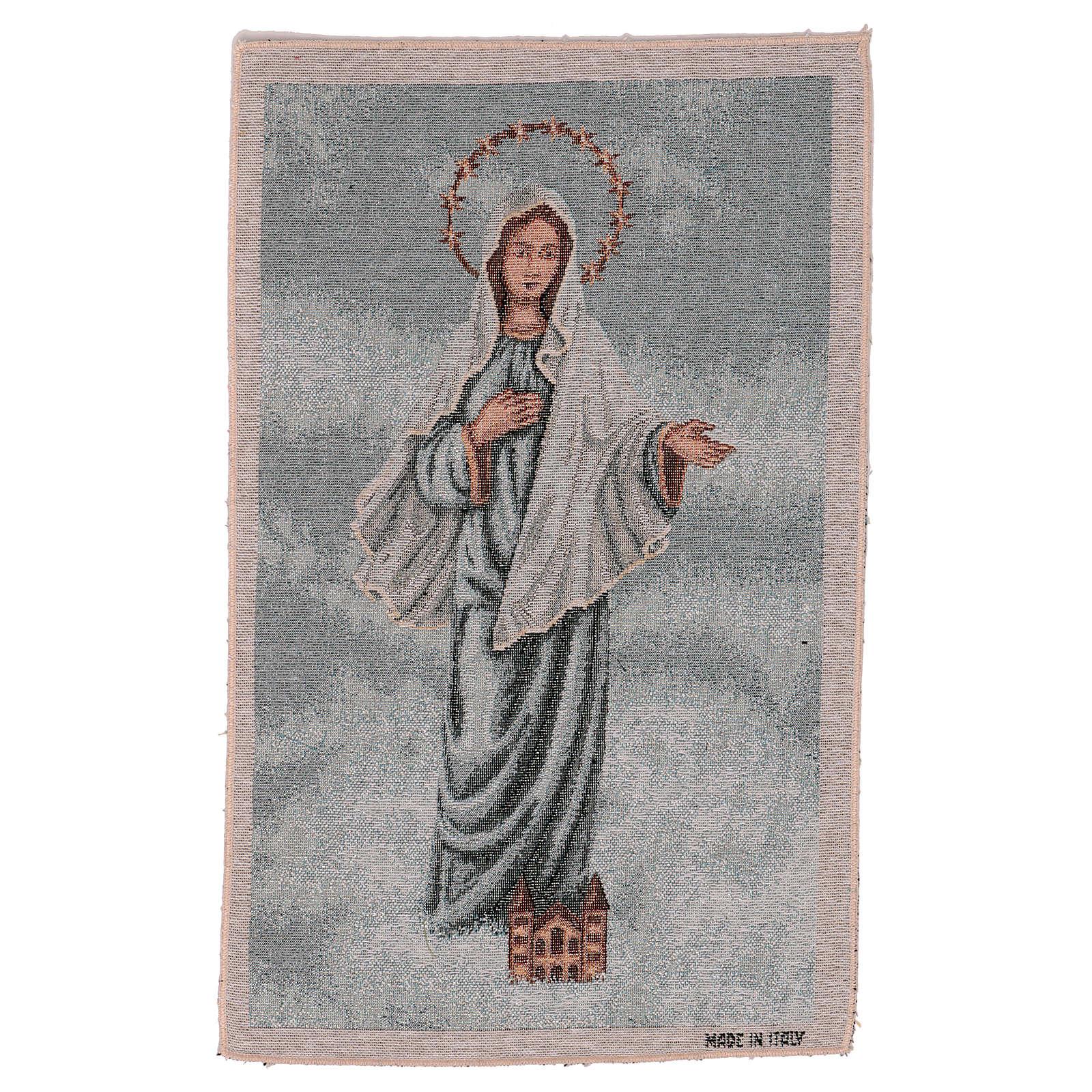 Arazzo Madonna di Medjugorje 45x30 cm 3