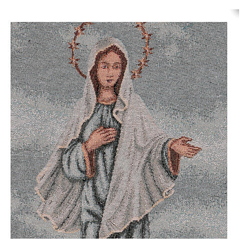 Arazzo Madonna di Medjugorje 45x30 cm 2