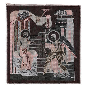 Arazzo Annunciazione Bizantina 30x30 cm s3