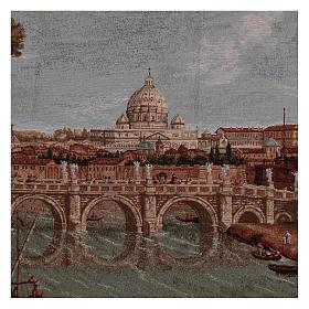 Gobelin Zamek Świętego Anioła rama uszy 70x120 cm s2