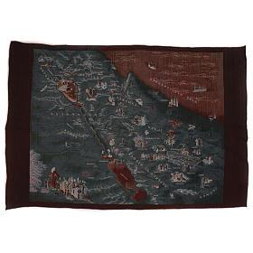 Map of Jerusalem tapestry 90x120 cm s3