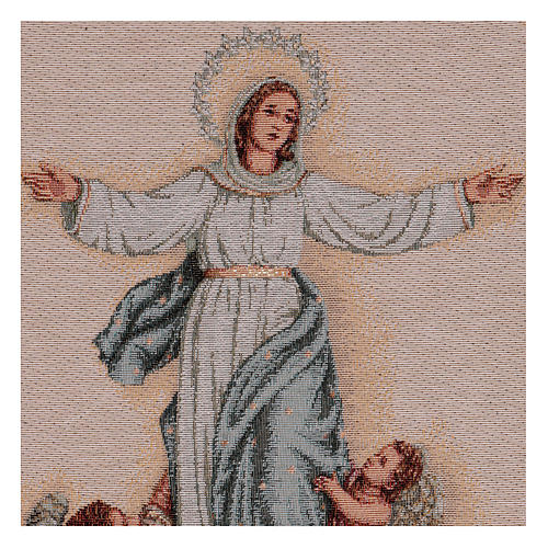 Our Lady of the Assumption tapestry 20x12