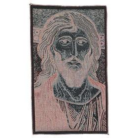 Wandteppich Christus Pantokrator von Monreale 45x30 cm s3