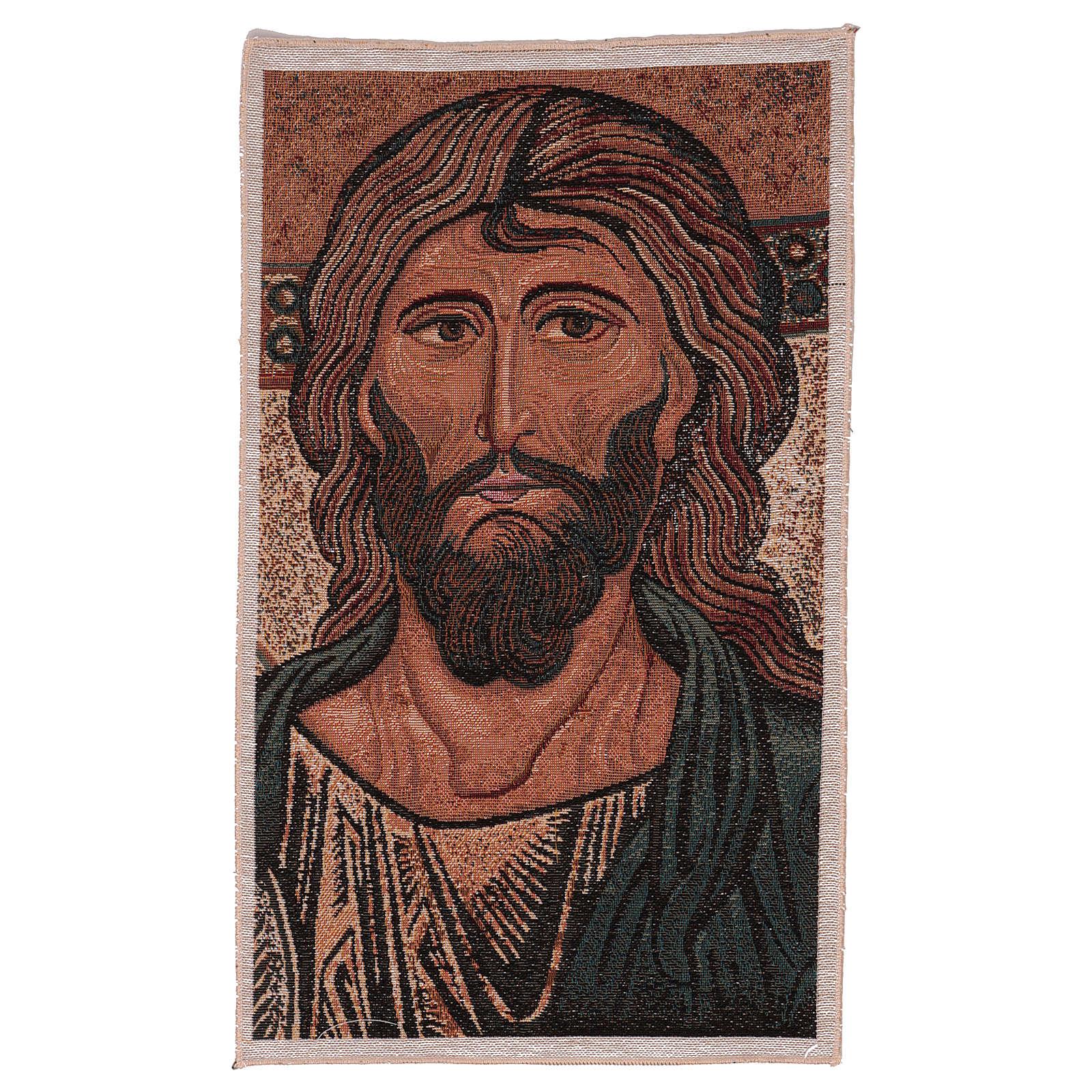 Arazzo Pantocrate di Monreale 45x30 cm 3