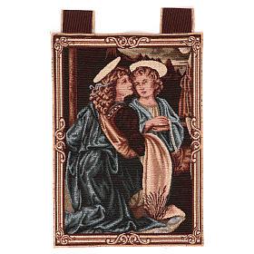 Arazzi: Arazzo Angeli da Battesimo di Cristo 40x30 cm