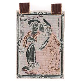 Arazzo Angeli da Battesimo di Cristo 40x30 cm s3
