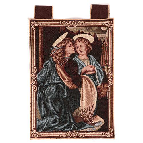 Arazzo Angeli da Battesimo di Cristo 40x30 cm 1