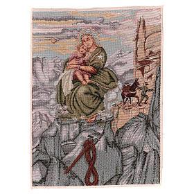 Arazzo Madonna degli Alpini 40x30 cm s1