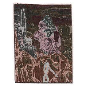 Arazzo Madonna degli Alpini 40x30 cm s3