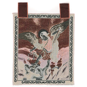 Saint Micheal Archangel tapestry 50x40 cm s3