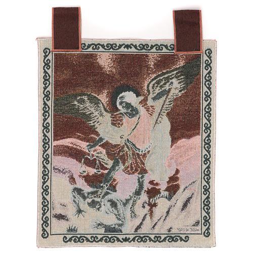 Saint Micheal Archangel tapestry 50x40 cm 3