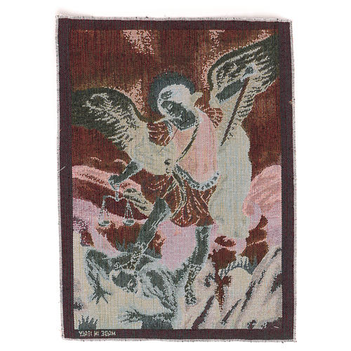 Tapiz San Miguel Arcángel 40x30 cm 3