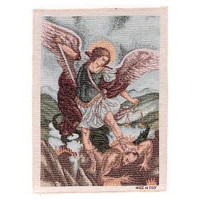 Arazzo San Michele Arcangelo 40x30 cm s1