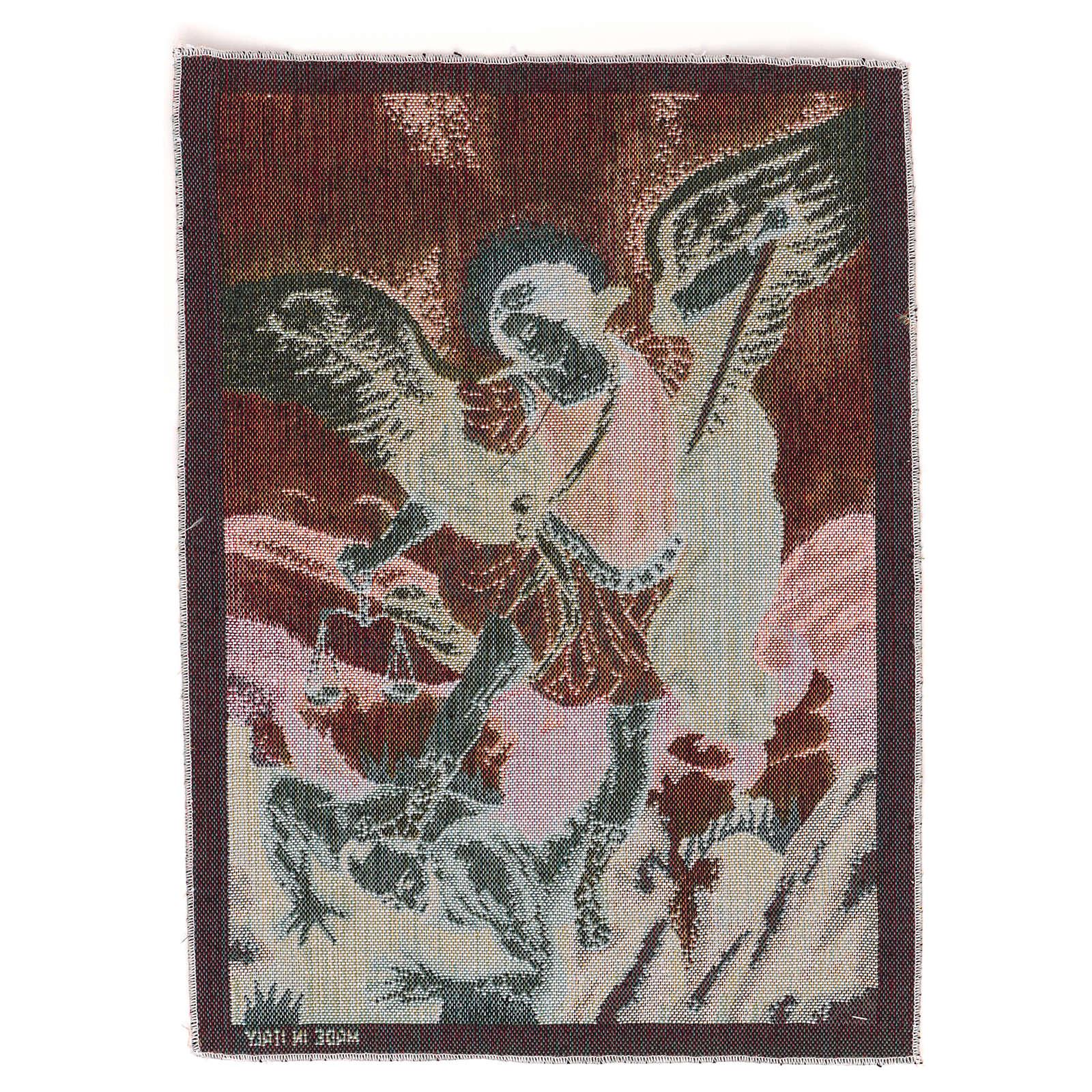 Gobelin Święty Michał Archanioł 40x30 cm 3