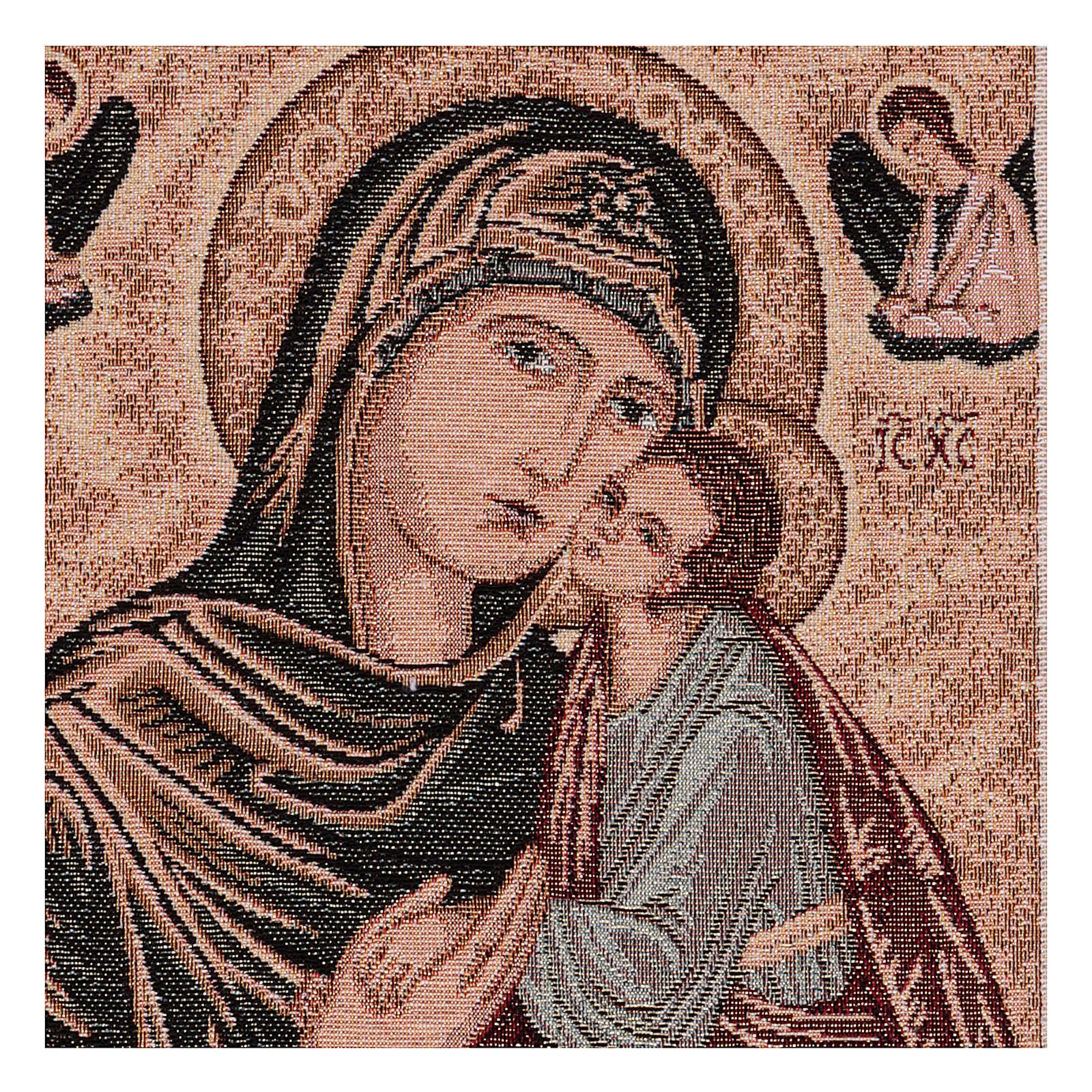 Arazzo Madonna Greca 40x30 cm 3
