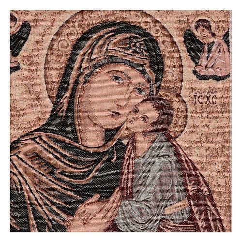 Arazzo Madonna Greca 40x30 cm 2