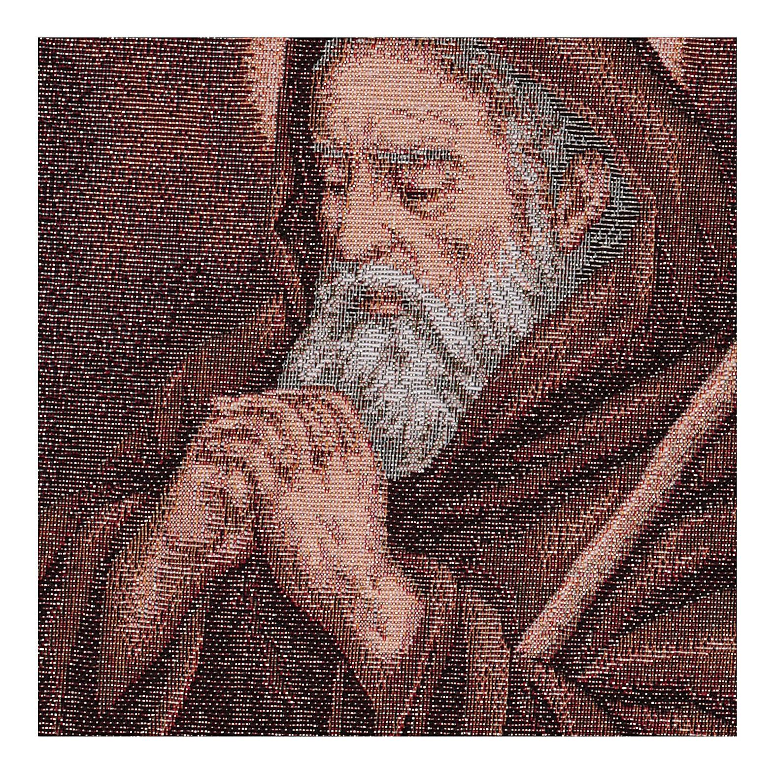 Arazzo San Francesco di Paola 40x30 cm 3