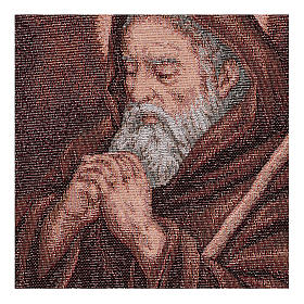Arazzo San Francesco di Paola 40x30 cm s2
