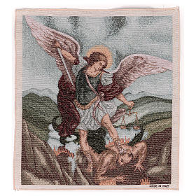 Saint Micheal Archangel tapestry 50x40 cm s1