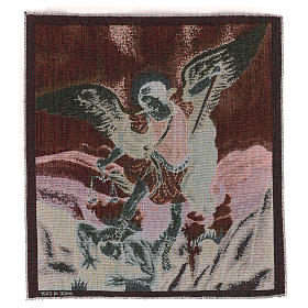 Saint Micheal Archangel tapestry 50x40 cm s3