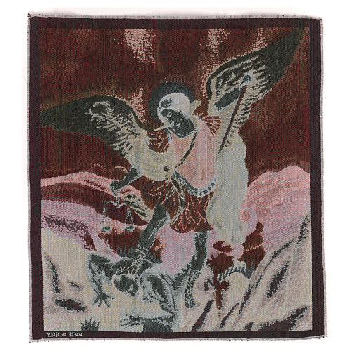 Saint Micheal Archangel tapestry 50x40 cm 3
