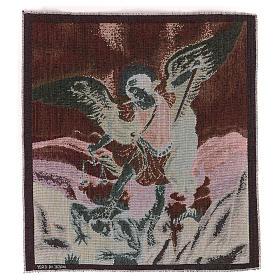 Tapisserie St Michel Archange 50x40 cm s3