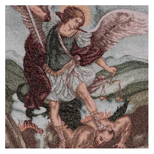 Arazzo San Michele Arcangelo 45x40 cm 2