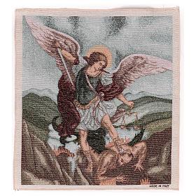 Gobelin Święty Michał Archanioł 45x40 cm s1