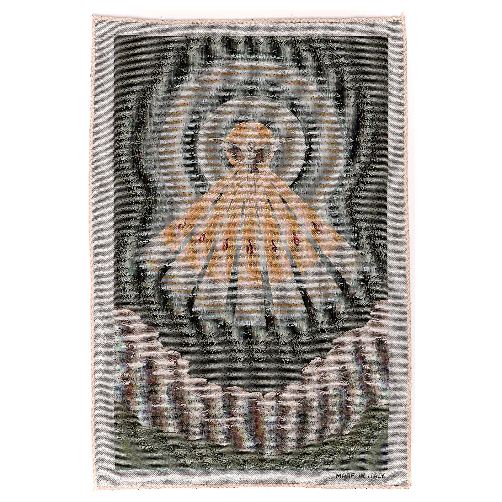 Gobelin błękitny Duch Święty 45x30 cm 3