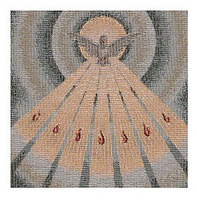 Gobelin błękitny Duch Święty 45x30 cm s2