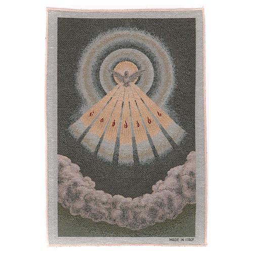 Gobelin błękitny Duch Święty 45x30 cm 1