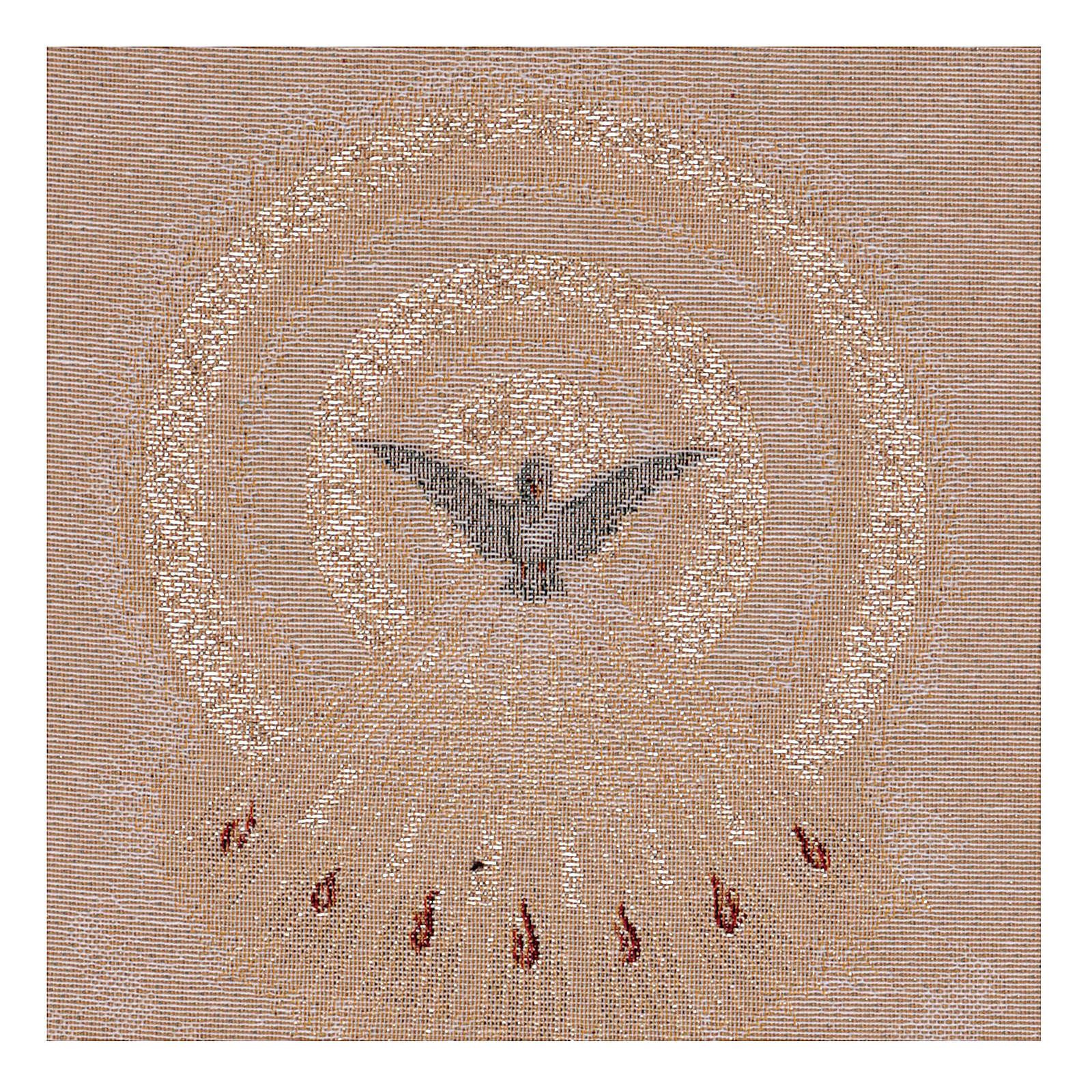 Gobelin beżowy Duch Święty 45x30 cm 3