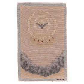 Gobelin beżowy Duch Święty 45x30 cm s1
