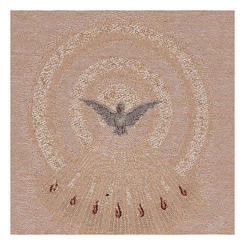 Gobelin beżowy Duch Święty 45x30 cm 2