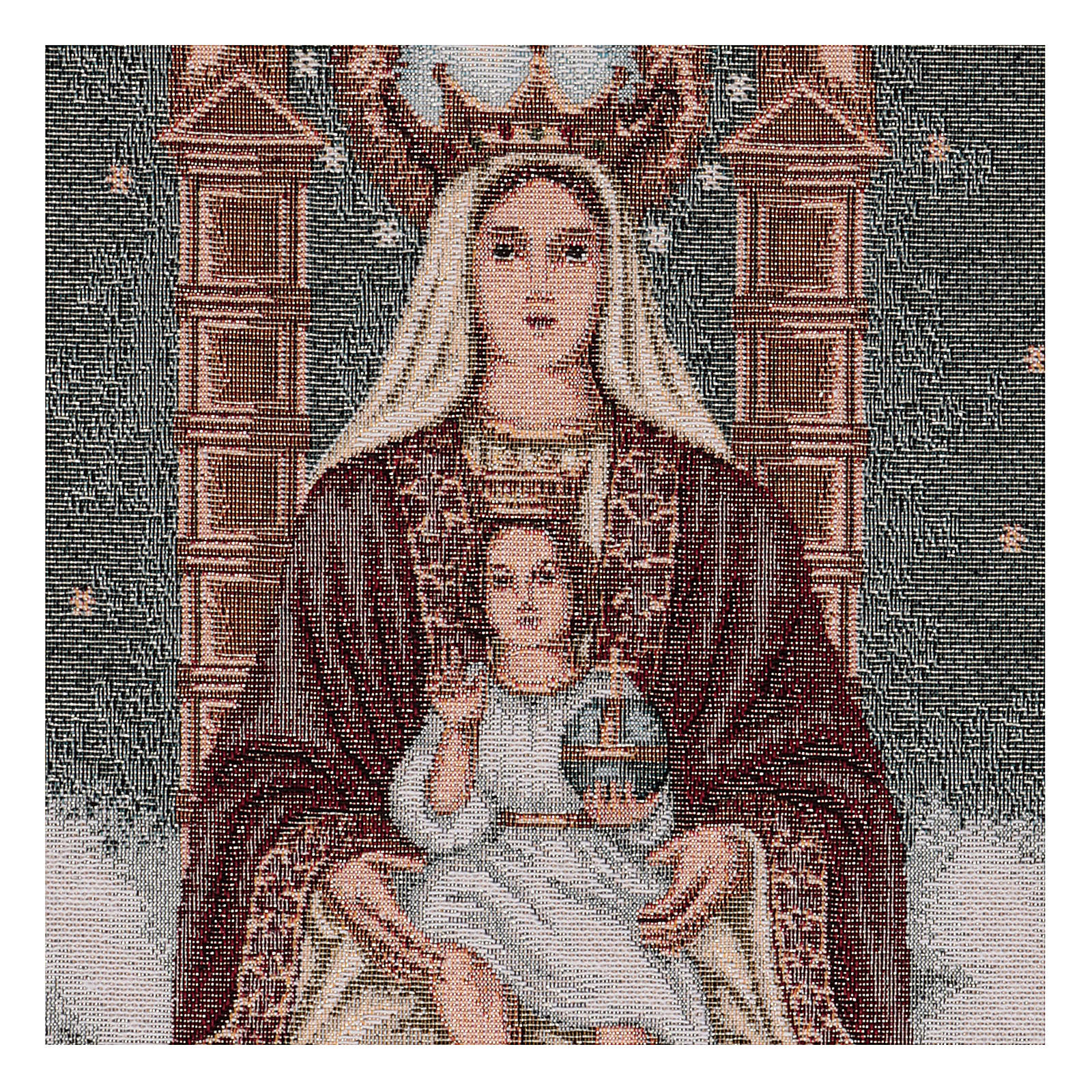 Our Lady of Coromoto tapestry 50x30 cm 3