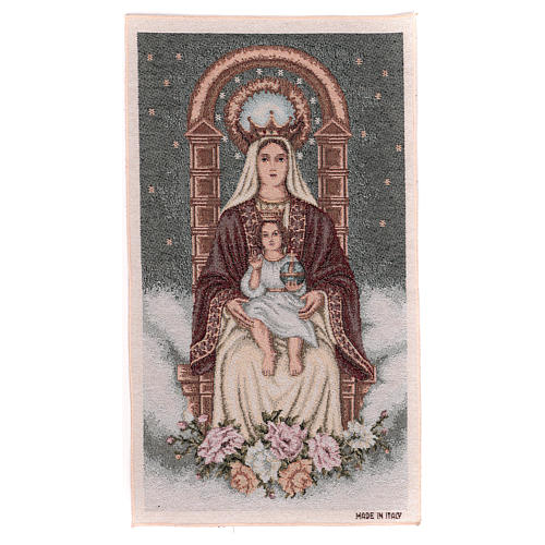 Our Lady of Coromoto tapestry 50x30 cm 1