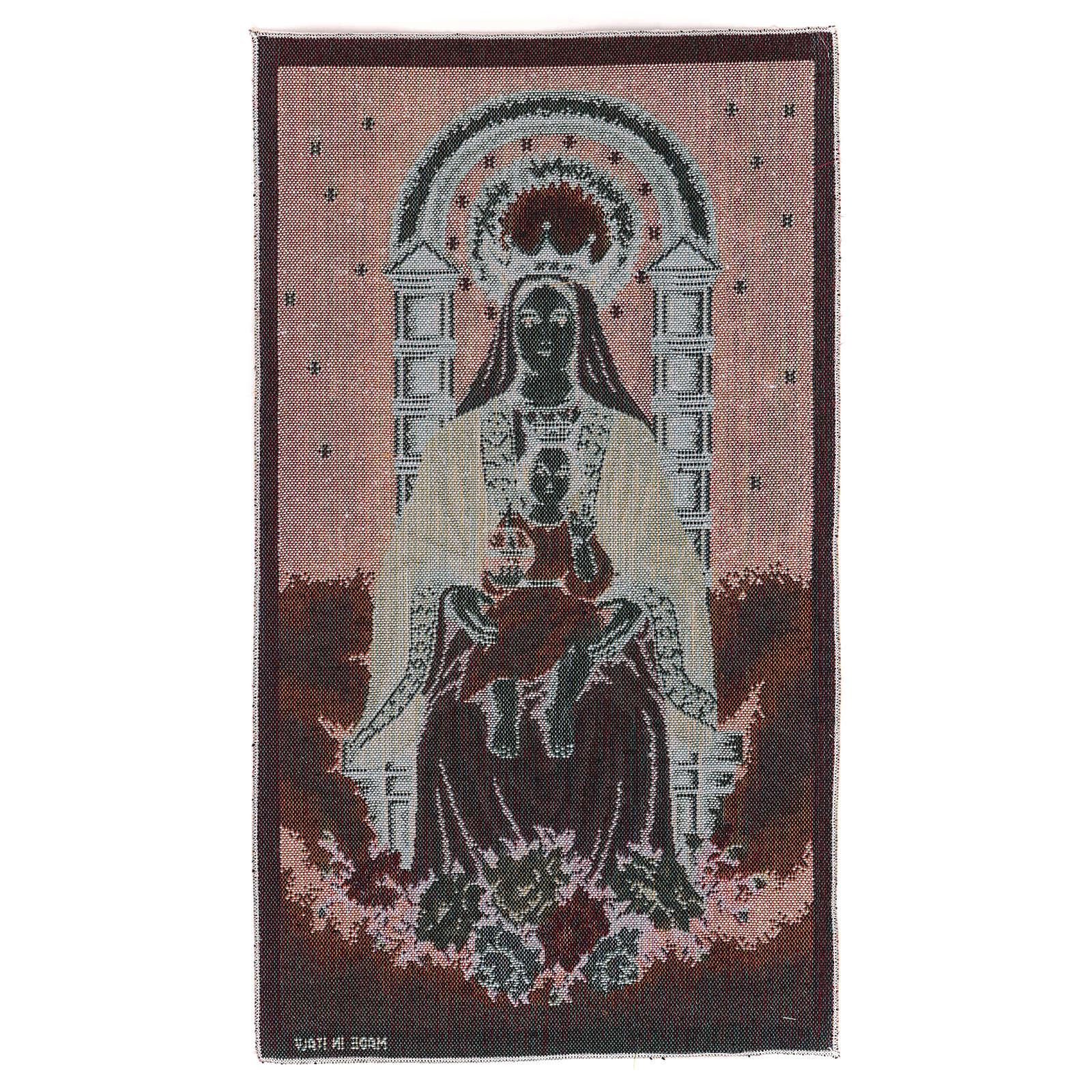 Arazzo Nostra Signora di Coromoto 50x30 cm 3