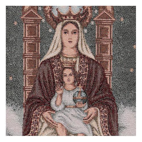 Arazzo Nostra Signora di Coromoto 50x30 cm 2