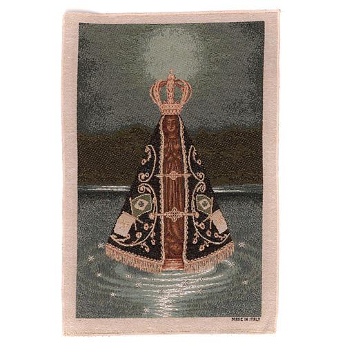 Nuestra Senora Aparecida tapestry 40x30 cm 1