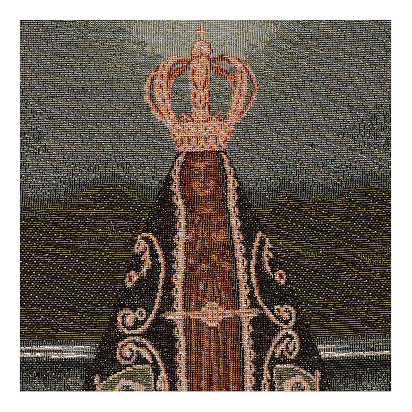 Arazzo Nuestra Senora Aparecida 45x30 3