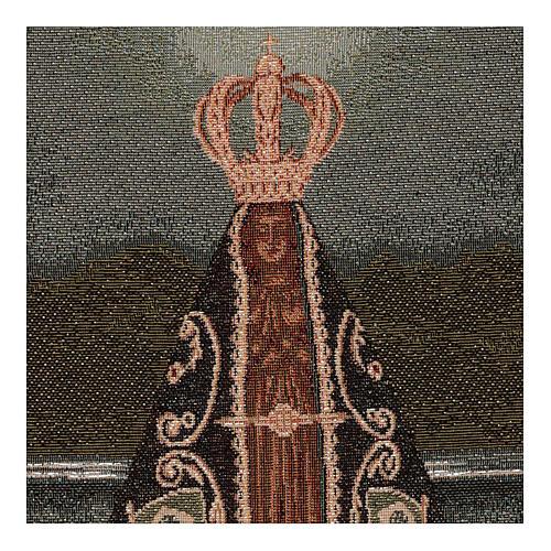 Gobelin Nuestra Senora Aparecida 45x30 cm 2