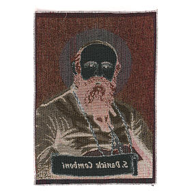 Saint Daniele Comboni tapestry 40x30 cm s3
