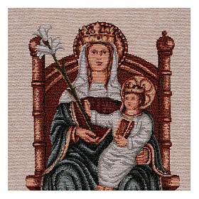 Arazzo Nostra Signora di Walsingham 45x30 cm s2