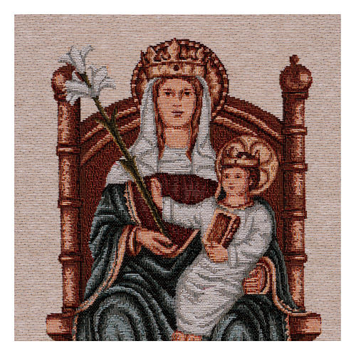 Arazzo Nostra Signora di Walsingham 45x30 cm 2