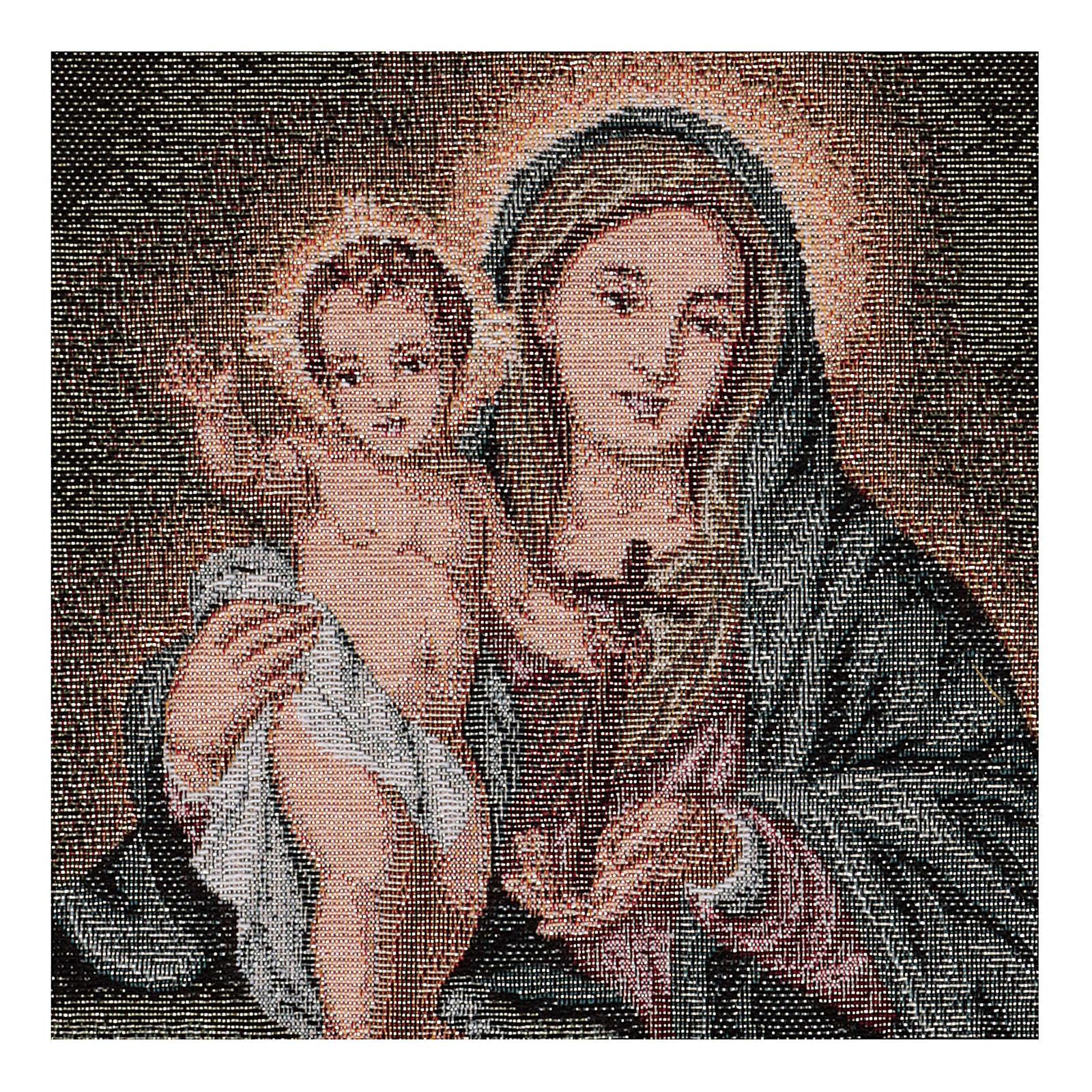Arazzo Mater Sanctae Spei 40x30 cm 3