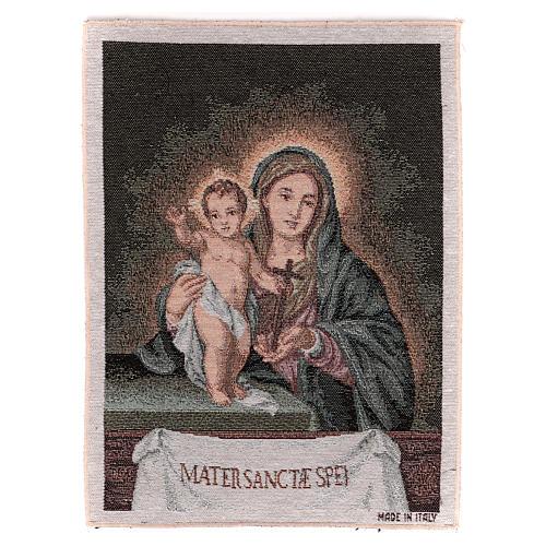 Arazzo Mater Sanctae Spei 40x30 cm 1