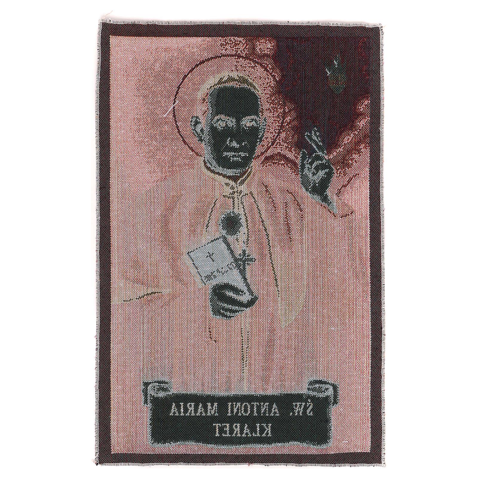 Saitn anthony Mary Claret tapestry 17x11.5