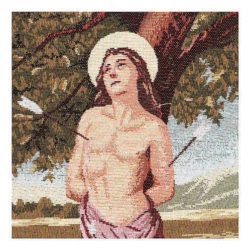 Saint Sebastian tapestry 40x30 cm 2